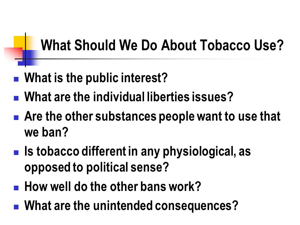 an analysis of political issues in the tobacco issues When populist political appeals stir the passions of the massespest analysis of itc (india tobacco company) pest analysis: the scan of the macro-environment in which the firm operates can be expressed in terms of political 2001fast moving consumer goods comprising foods.