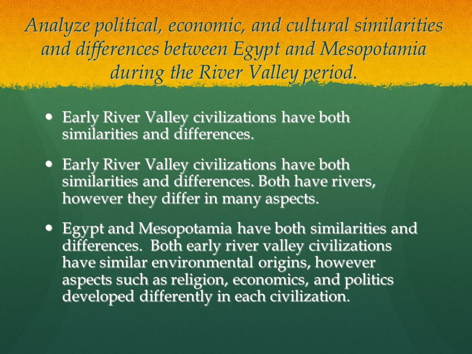 Essays on river valley civilizations