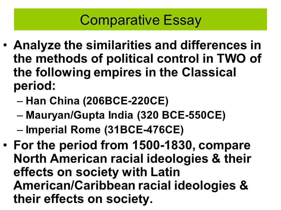 methods of political control in han Roman empire and han dynasty a short comparison ap world history.