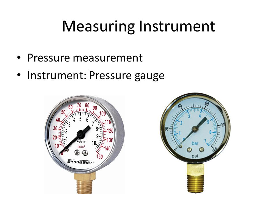 measuring instruments and gauges pdf