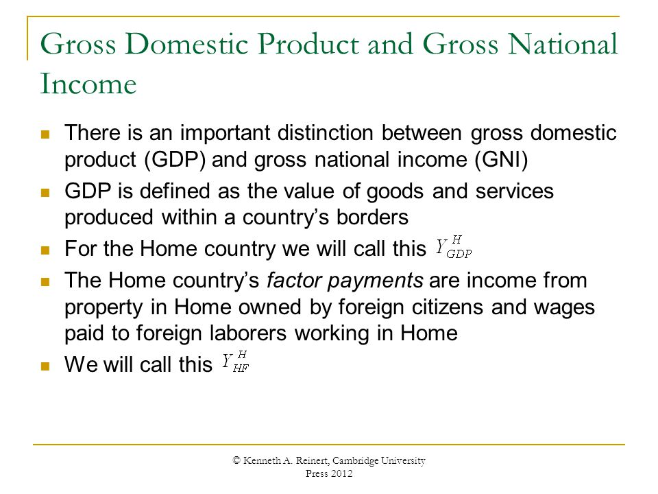 GDP vs. GNP – What's the Difference?