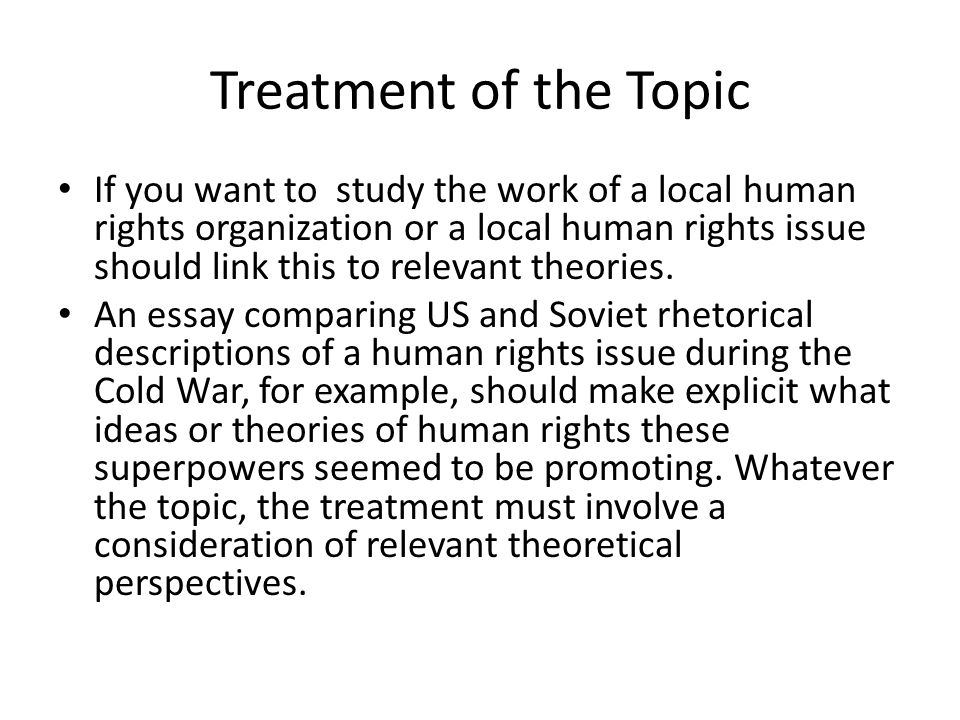 characteristics of human rights essay