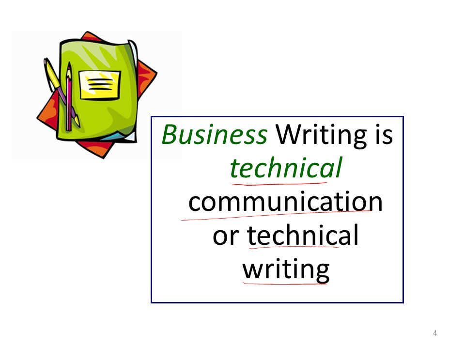 technical writing activities