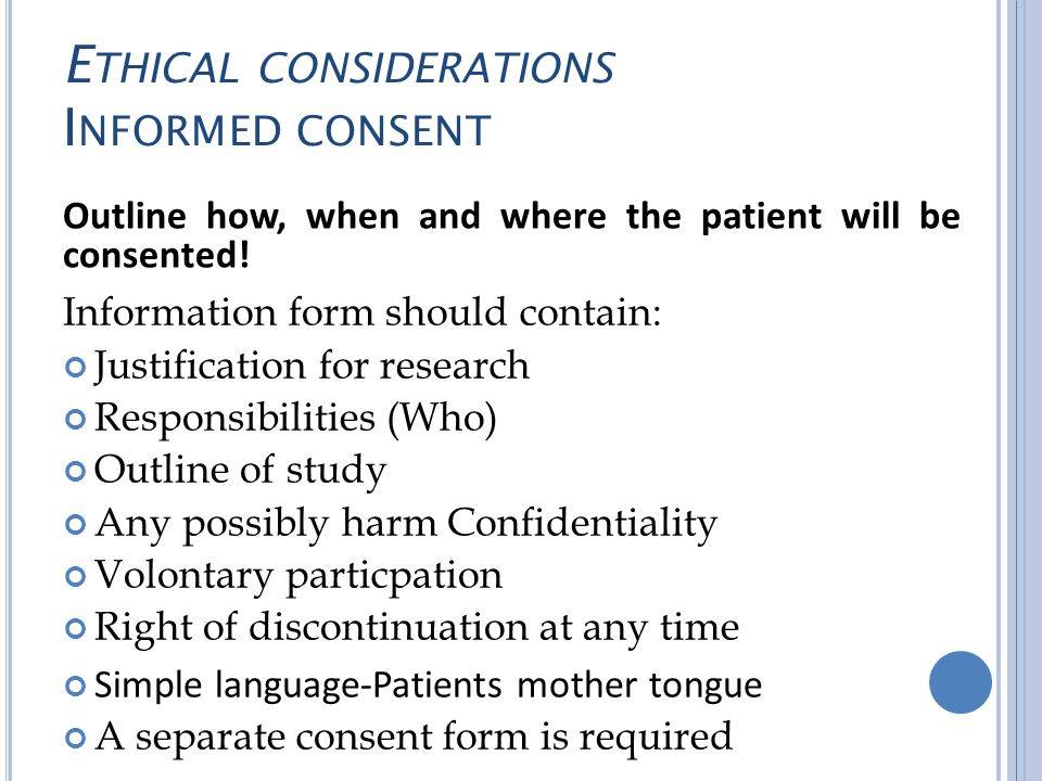 What Is Informed Consent in Research? - Study.com
