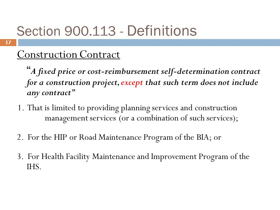 Subpart j construction ppt download for Fixed price construction contract