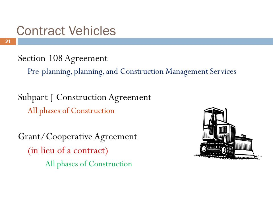 Preconstruction services agreement