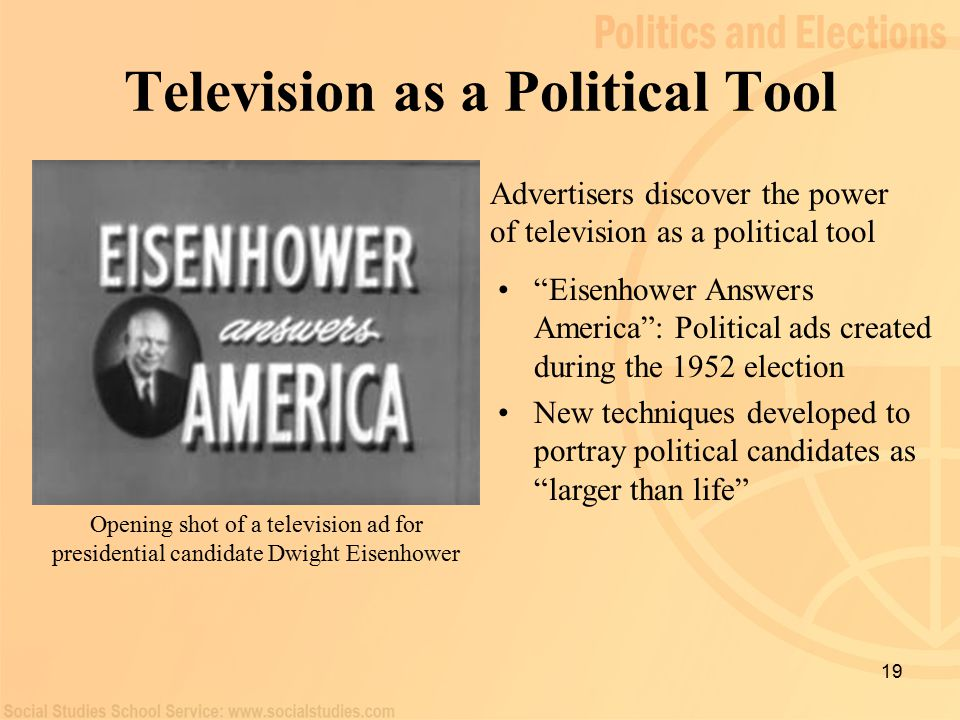 the use of television ads during the presidential election He didn't win the money race, but donald trump will be the next president of the us in the primaries and general election, he defied conventional wisdom, besting.