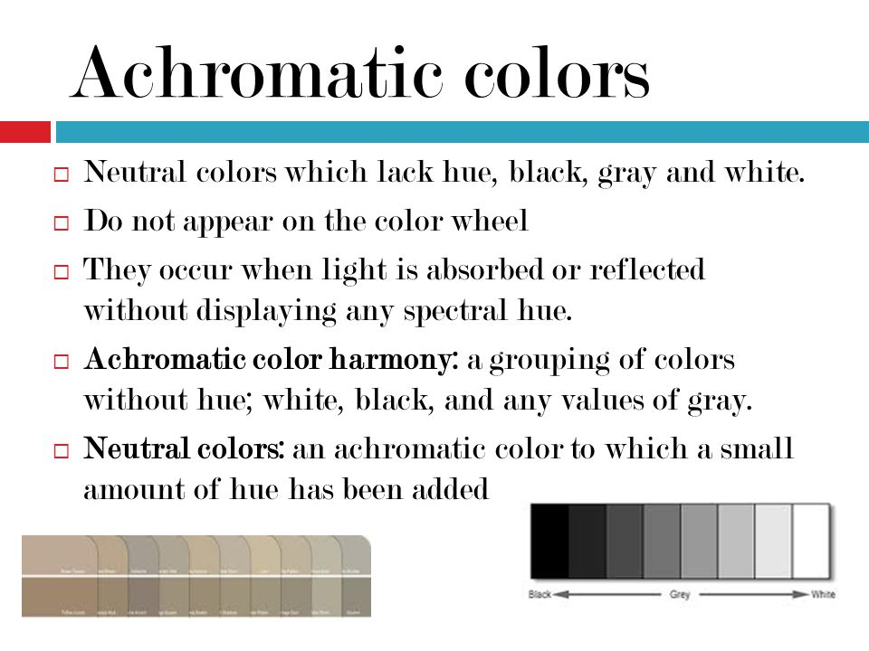List of neutral colors color ppt video online download for Neutral colors definition