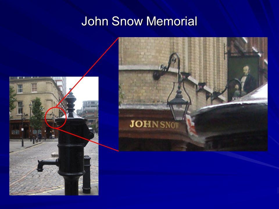 John Snow Memorial