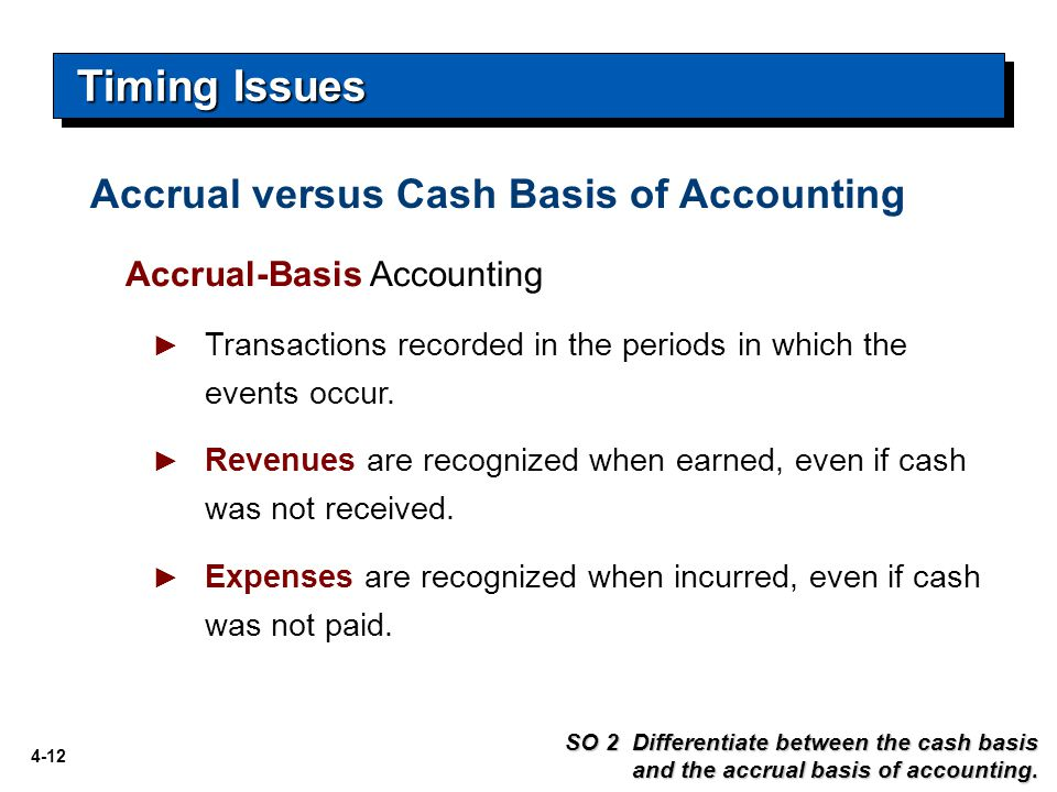 accrual accounting versus cash accounting Want to know the difference between cash accounting and accrual accounting we explain it in this video for more free tips on how to make your business more.