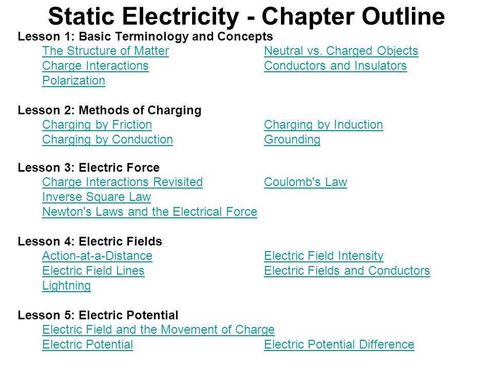 static electricity chapter outline ppt download. Black Bedroom Furniture Sets. Home Design Ideas