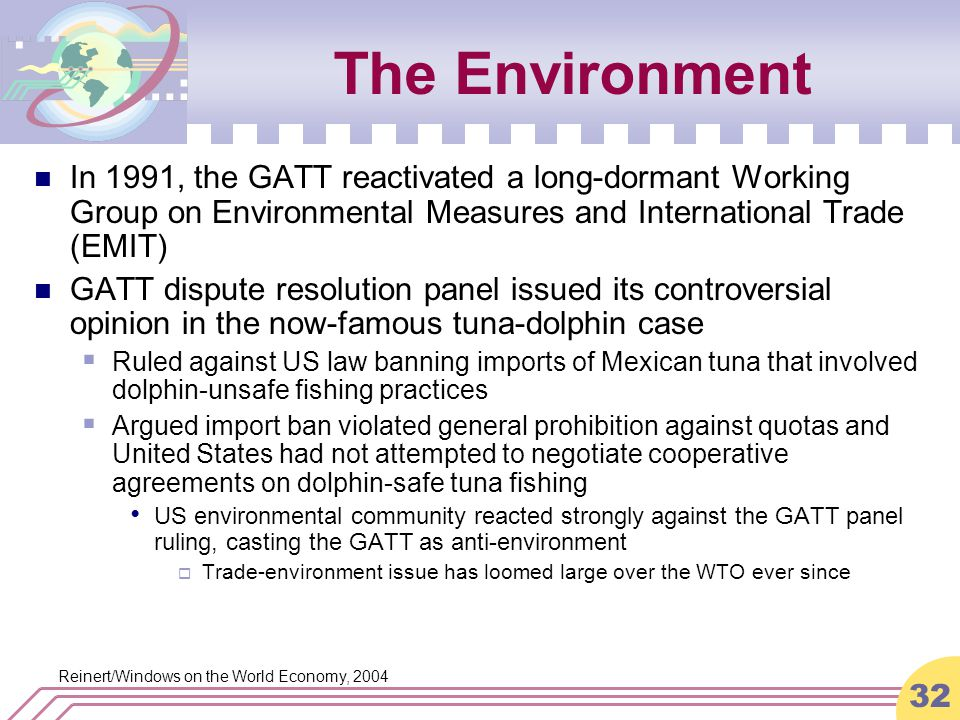 An analysis of general agreement on and trade gatt in united states