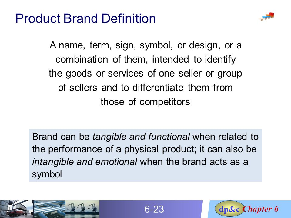 Define the term brand
