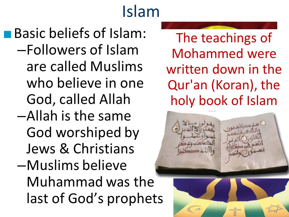 islam beliefs and teachings pdf