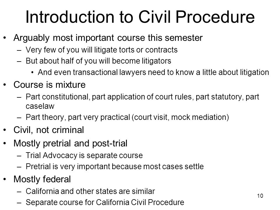 the civil litigation process The most lengthy and arduous portion of the civil litigation process is the discovery stage when the parties collect relevant information and carry out research to.