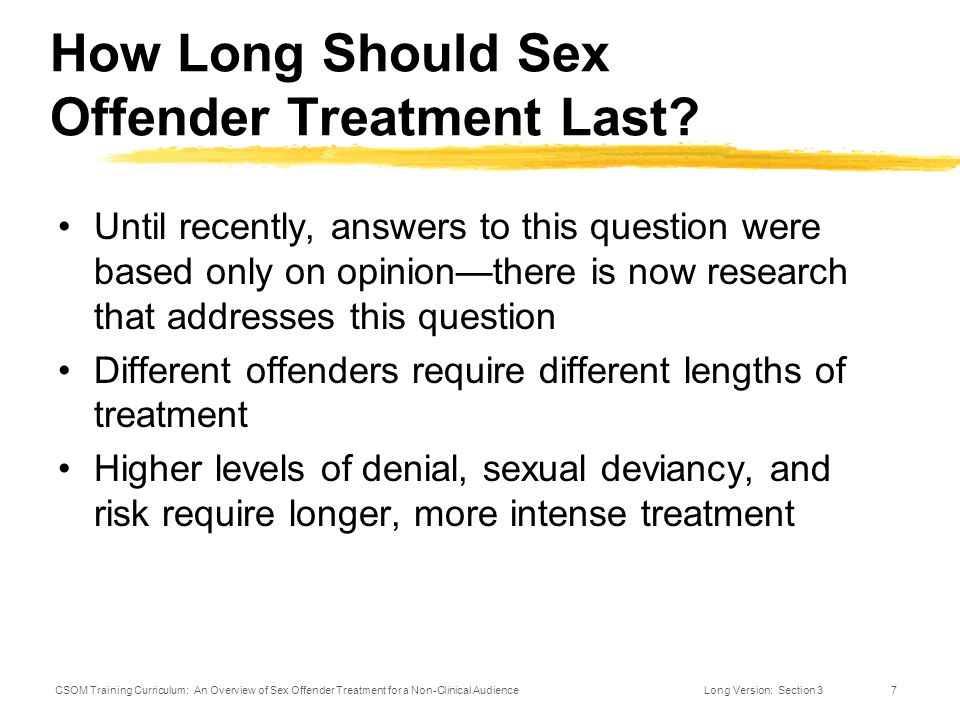 sex offender treatment curriculum Zappone