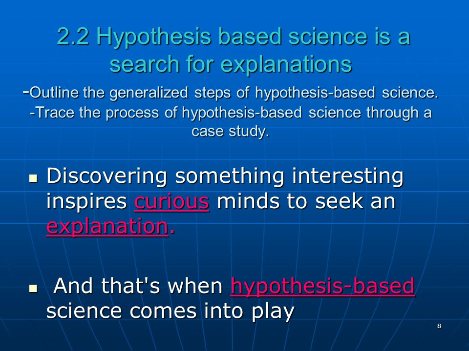 Introduction  Biology Today   ppt video online download Hypothesis