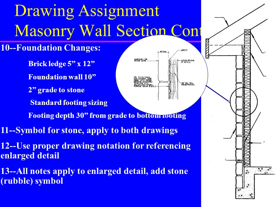 Exterior Wall (Masonry) - ppt video online download