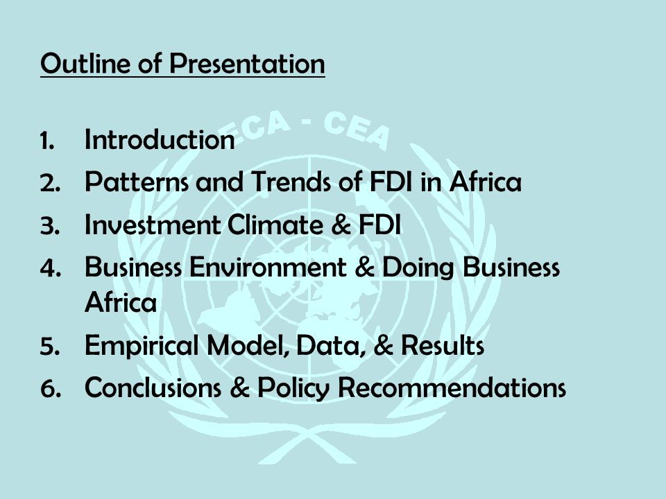 foreign direct investment an introduction Definition of foreign direct investment: direct investments in productive assets by a company incorporated in a foreign country, as opposed to.