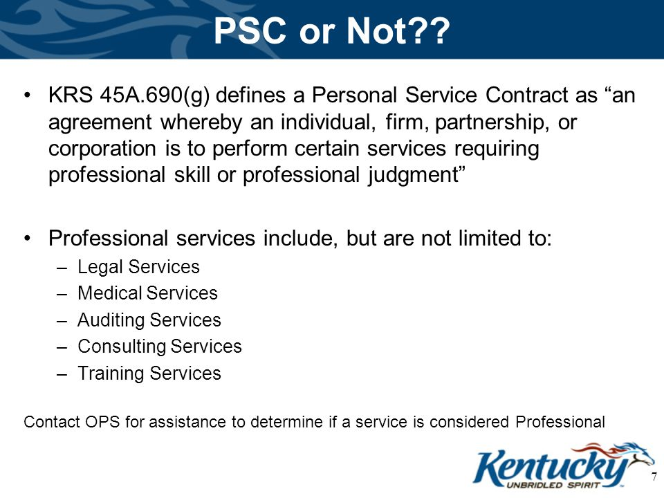 Requests For Proposals Personal Service Contracts - Ppt Video