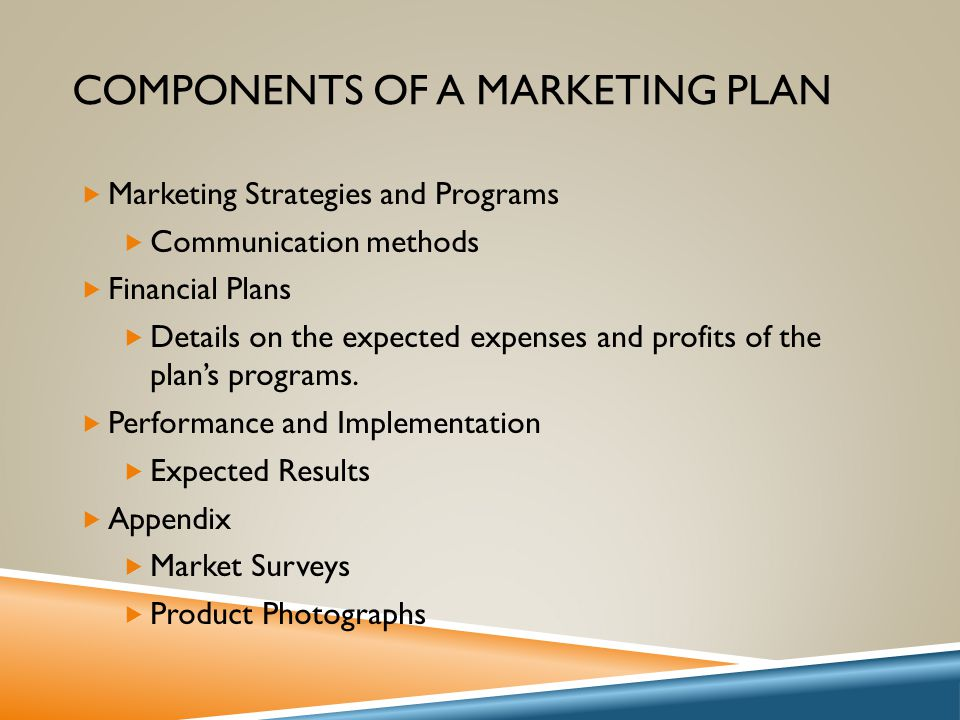 What are the components of Business Development plans?
