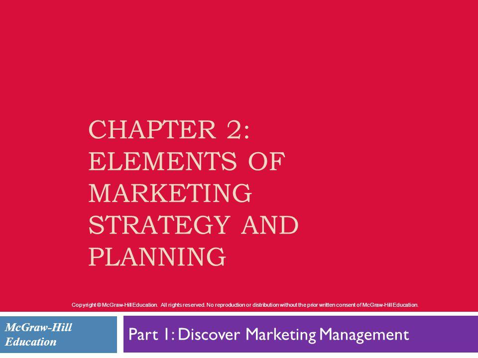 elements of marketing strategy pdf
