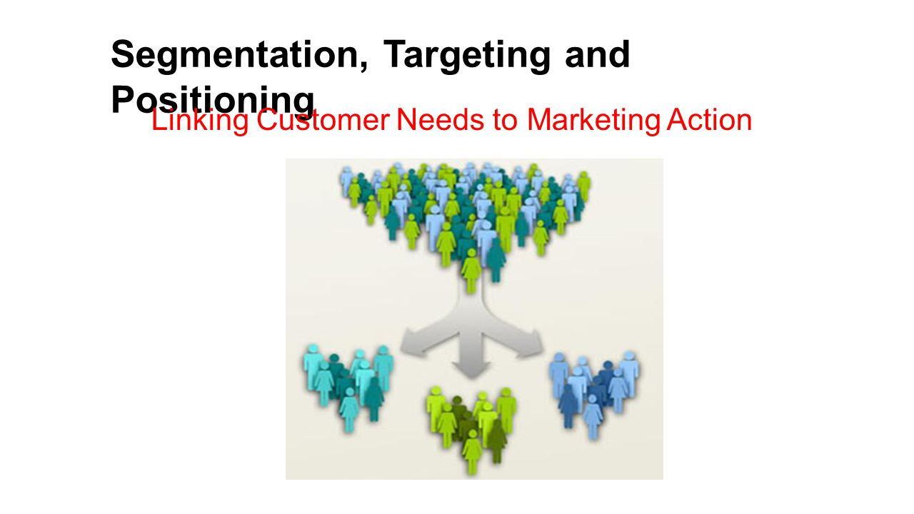 targeting and positioning The core concepts of marketing segmentation, targeting and positioning are explored by the questions in this a level business revision quiz.
