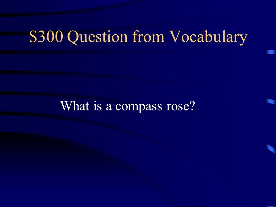 $300 Question from Vocabulary