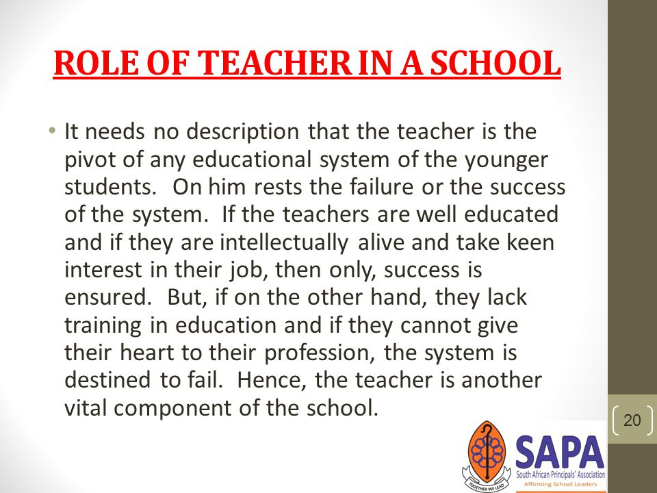 college teachers role in society What is the role of school in society  what is school's role in society  what does this say about the society's viewpoint of teachers.