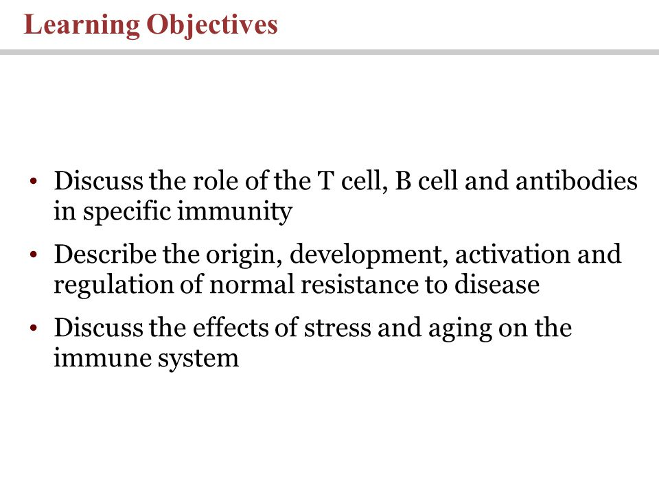 discuss the relationship between stress immune function and illness