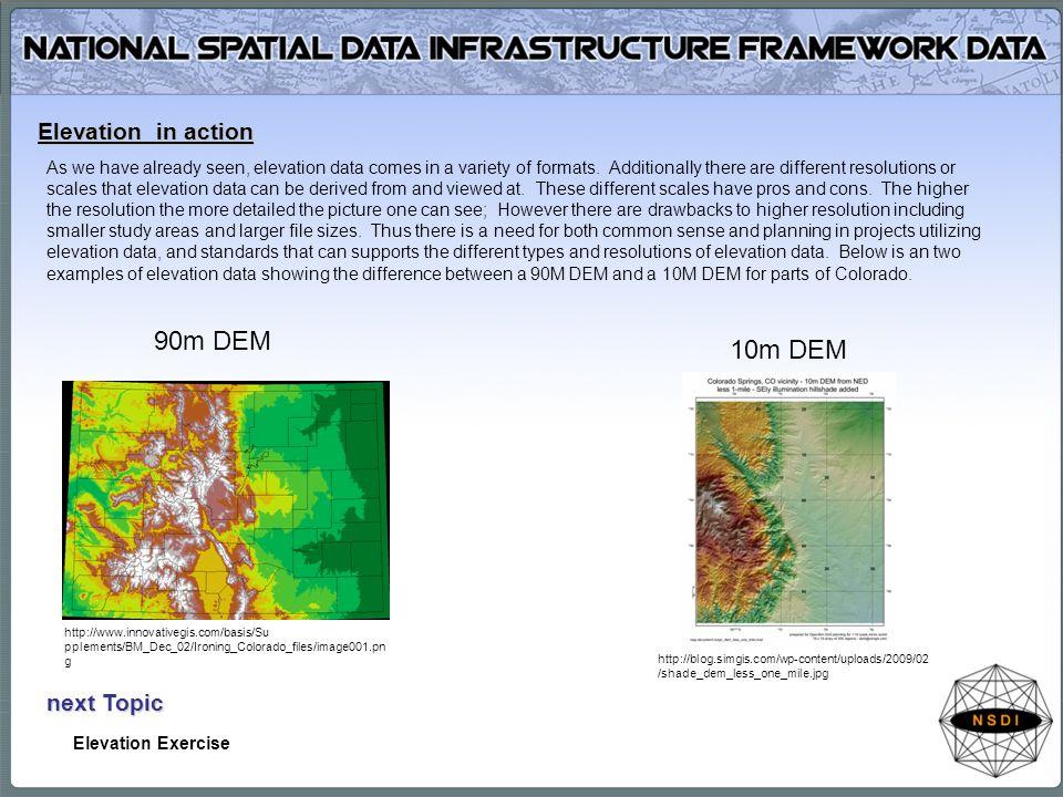 Framework Data Content Elevation Ppt Download - Dem elevation data
