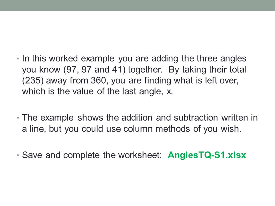 Mathematics Simple Angle Facts Ppt Video Online Download