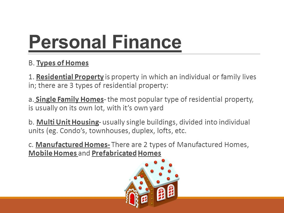 Personal finance ppt download for What type of loan to buy land