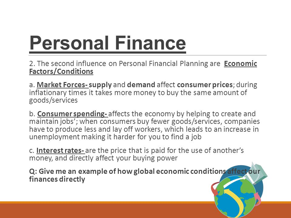 Personal Finance. - Ppt Download