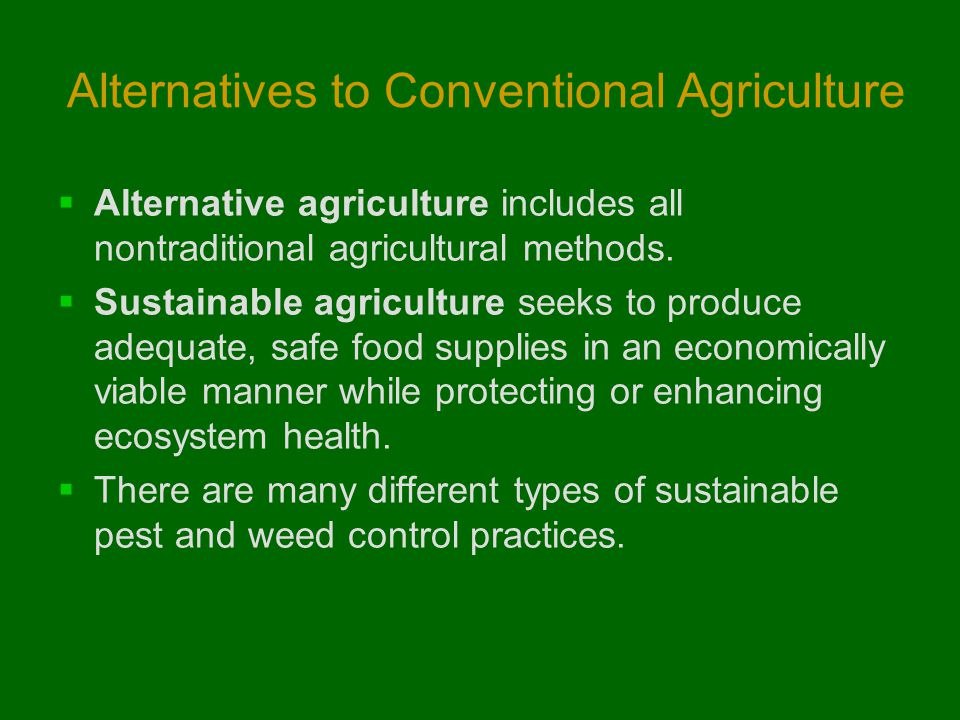 "an alternative method of agriculture proposal Ffar anticipates funding at least one meritorious proposal in each of our seven   of sustainable food and agriculture, defined as practices that, ""satisfy human  food  information about how to apply, submission guidelines, and other details."