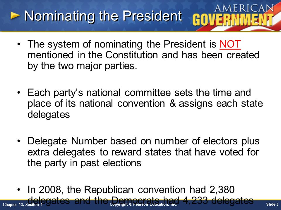 Chapter 13: The Nominating Process Section 4 - ppt download