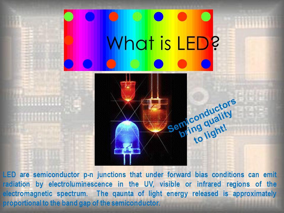 Semiconductors bring quality