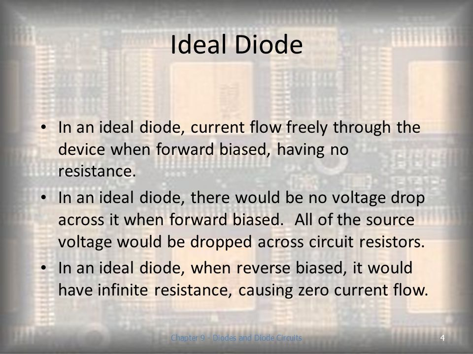 Chapter 9 - Diodes and Diode Circuits