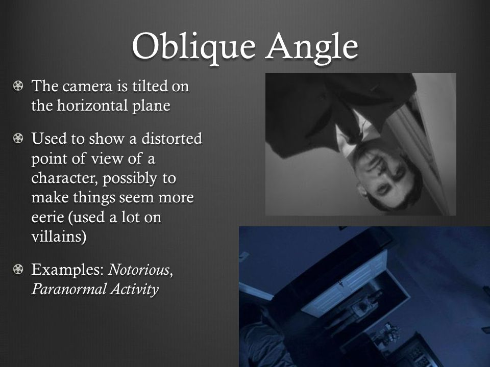Shots, Angles, and Lighting - ppt video online download