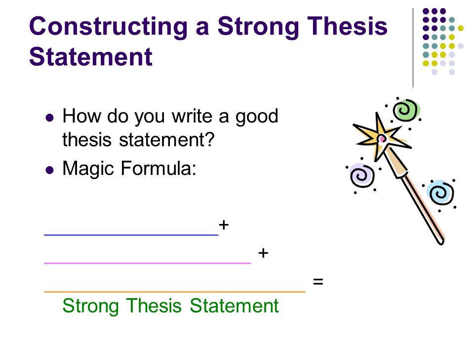 The Best Thesis Statement- Secret to Excellent Thesis Papers