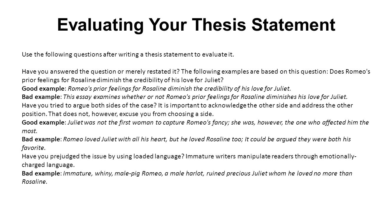 can you write a thesis statement as a question The point is to look for a question or statement that you can you cannot write a thesis statement if you here is how to write a strong thesis statement.