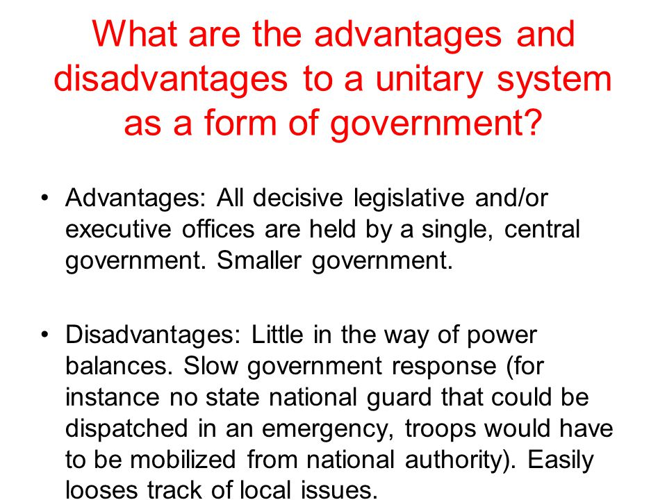 The student will compare and contrast various forms of government ...