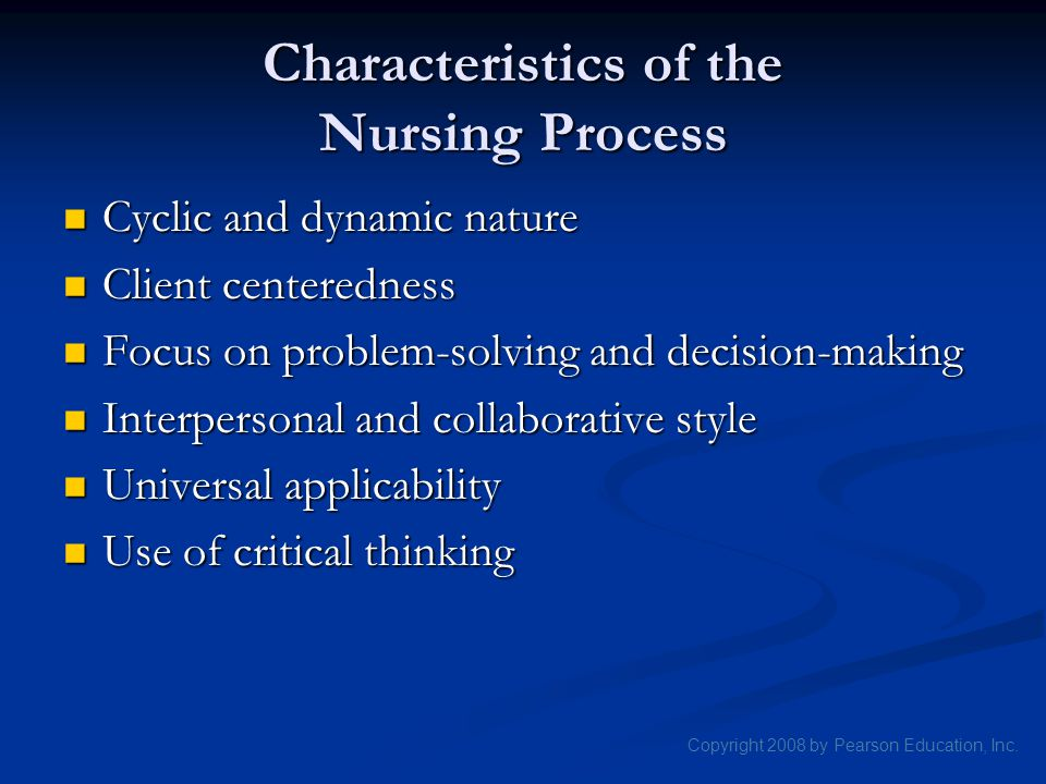decision making process in the nursing profession