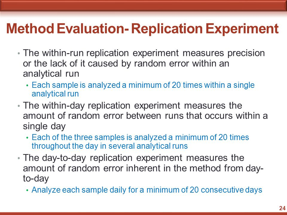 error analysis within an experiment Really we need a statistical analysis (typically, the better the analysis the lower the uncertainty) • (state what you do, ie, how you estimated the uncertainty.