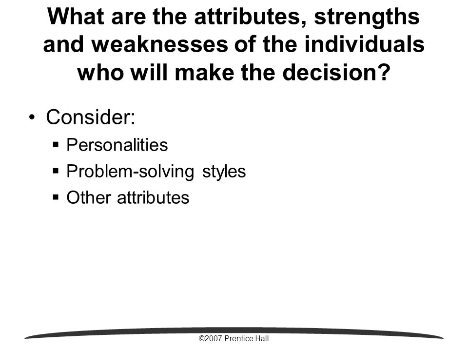 strengths and weaknesses in problem solving leadership styles Chapter 14 leadership, roles, and problem solving in evaluating their strengths and weaknesses as leadership styles and skills are needed.