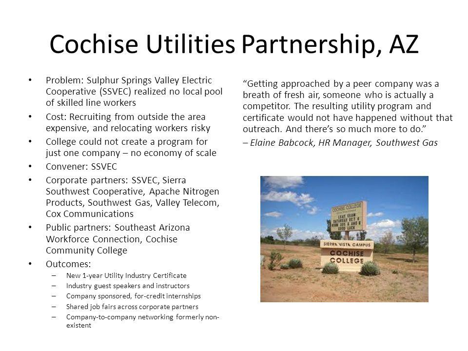 Cochise Utilities Partnership, AZ