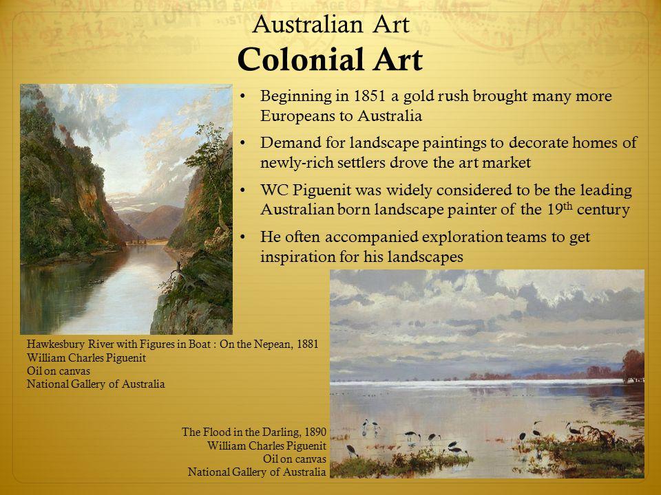 Australian Art Colonial Art