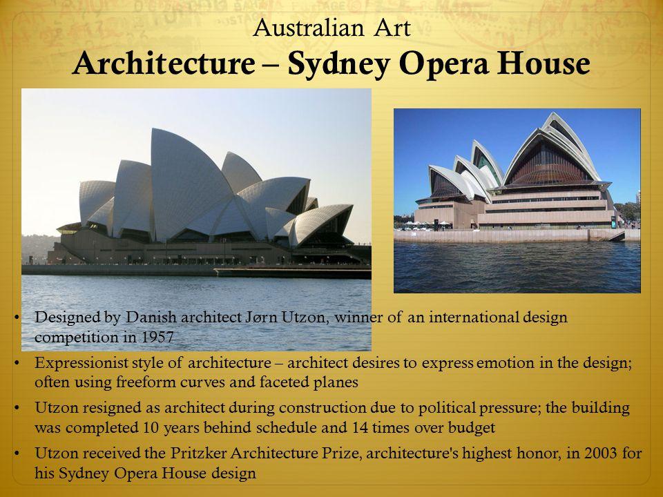 Australian Art Architecture – Sydney Opera House