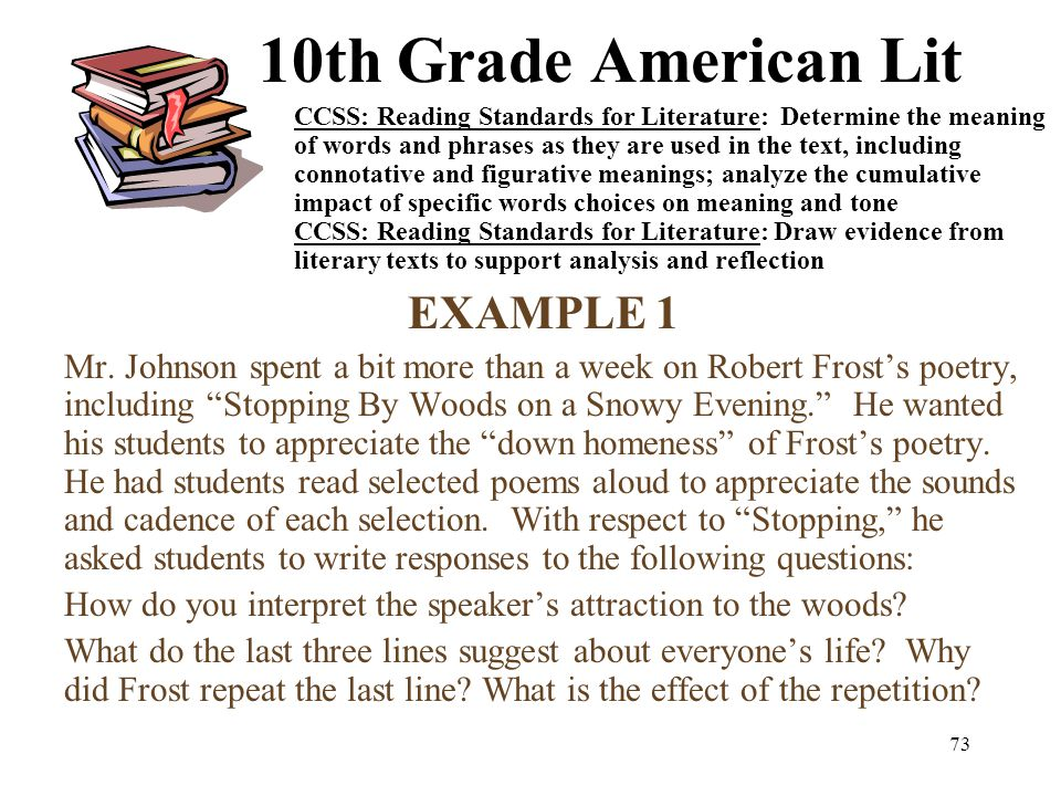 Literary Analysis of Robert Frost Poetry
