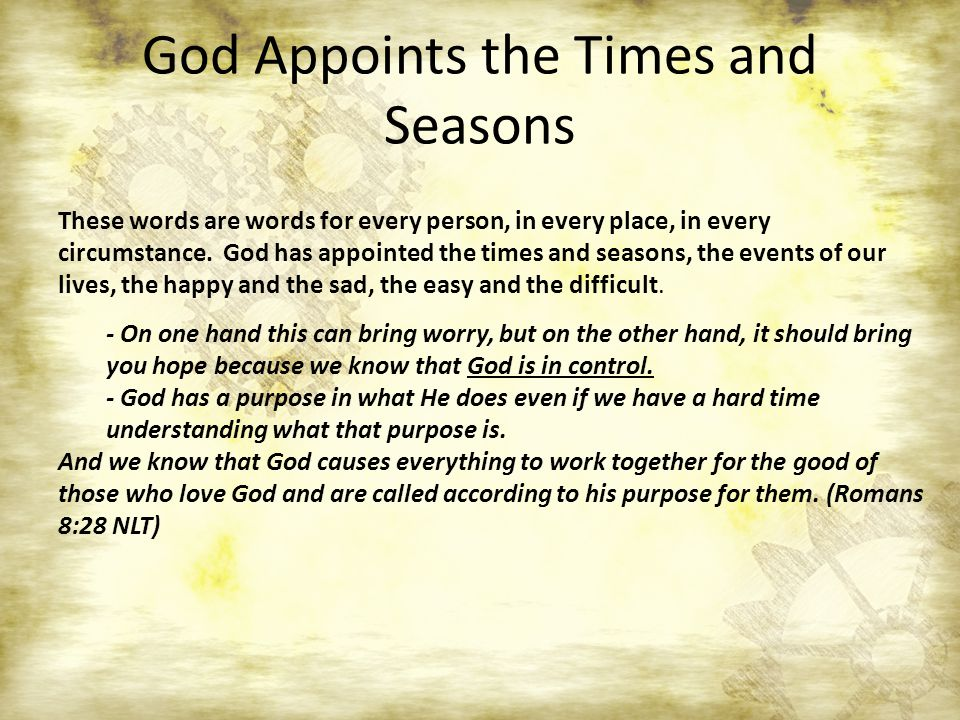 A Time For Everything Ecclesiastes 3 Ppt Video Online